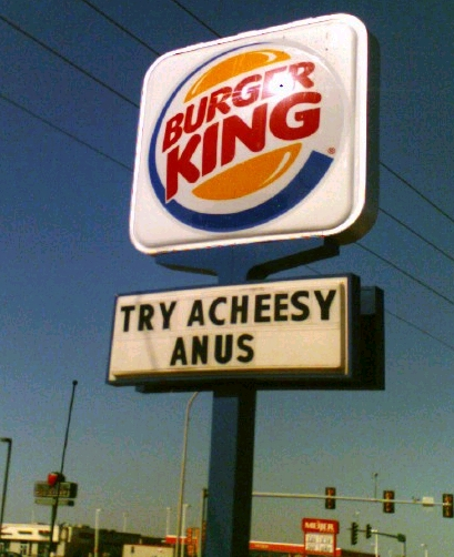 Fast Food Signs Gone Wrong