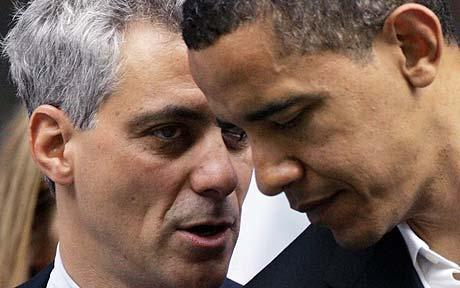 obama emanuel Gay rights advocates march on