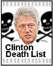 clinton obama bush death list